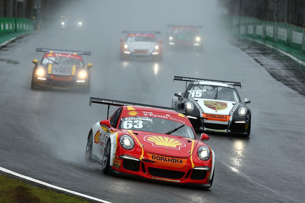 Em Interlagos, Kaesemodel vence na Porsche GT3 Cup e Marcus Vario triunfa na Challenge