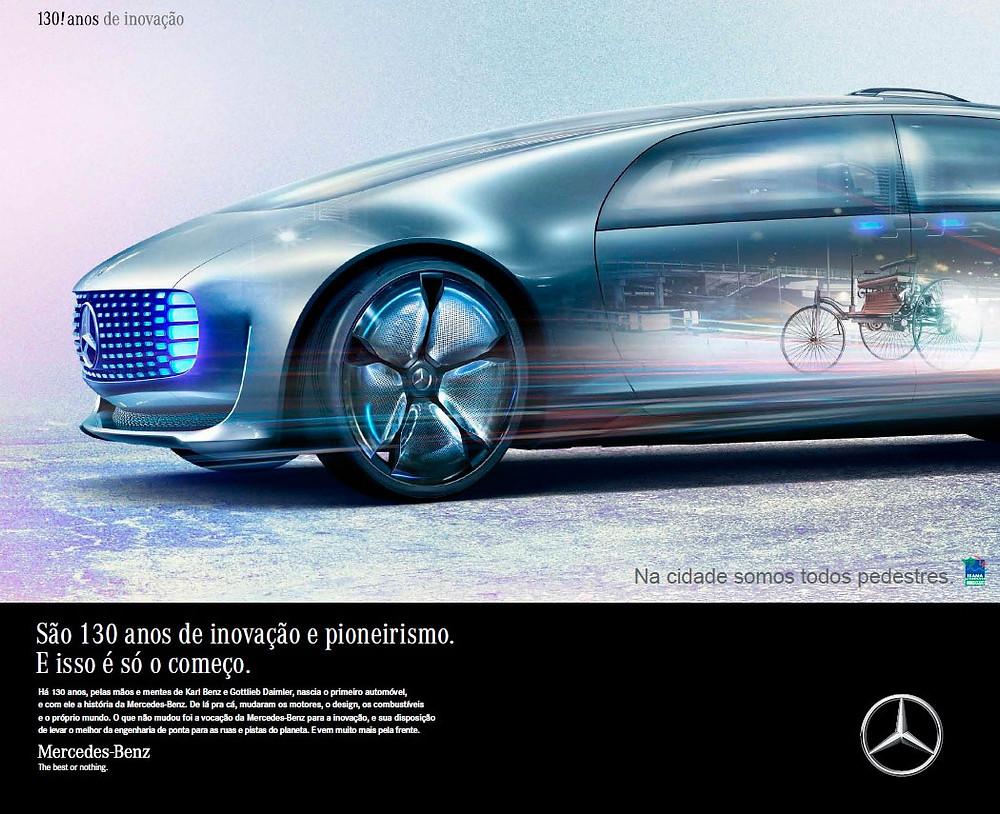 Mercedes-Benz celebra 130 anos da criação do primeiro automóvel