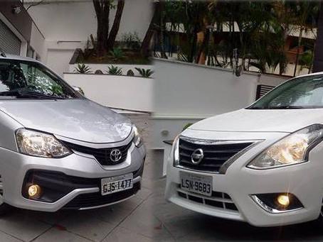 Comparativo: Com design mais moderno, conectado e tecnológico, Nissan Versa vence disputa com Toyota