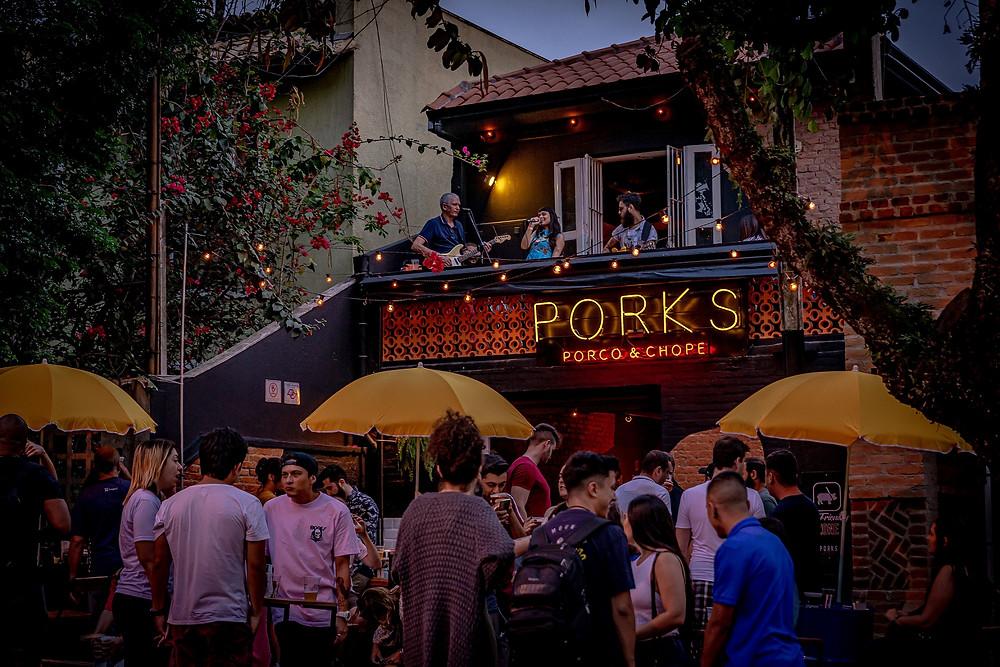 Vila Madalena ganha bar especializado em carne de porco e chope