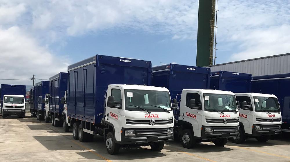Volkswagen Caminhões e Ônibus entrega 126 caminhões no Paraguai