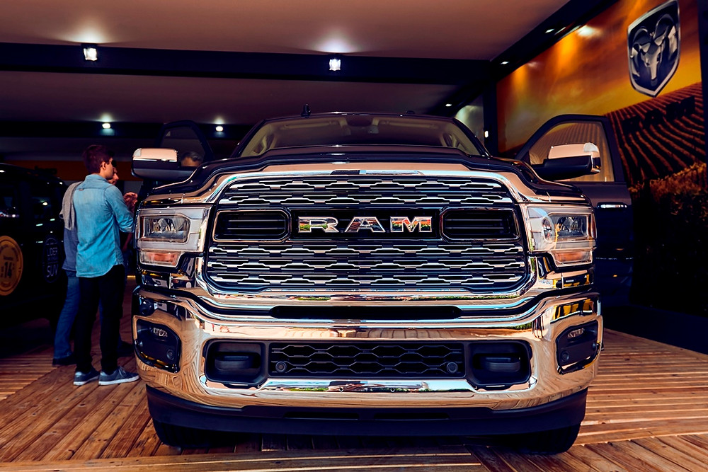Modelo que chega ao mercado em novembro, nova Ram 2500 é destaque da FCA na Expointer