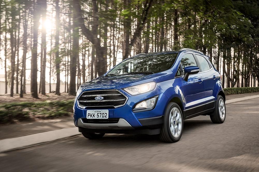 Ford prepara chegada em Agosto do Ecosport 2.0 Titanium, com 176 CV e transmissão automática de 6 velocidades