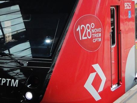CPTM recebe mais dois novos trens para Linha 7-Rubi e 11-Coral