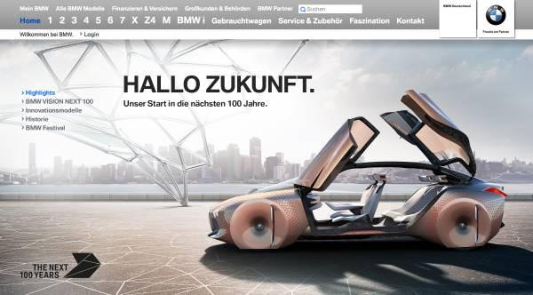 100 anos de história para a BMW