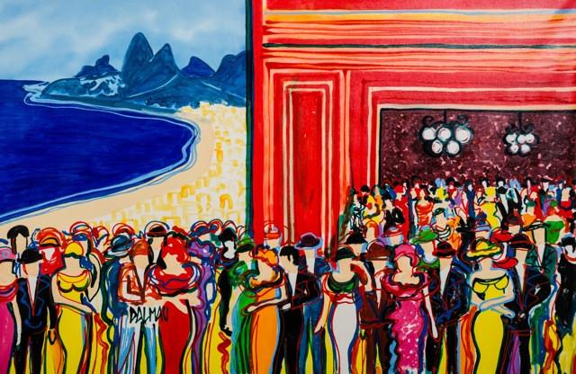 Blue Tree Premium Faria Lima recebe exposição do artista espanhol David Dalmau