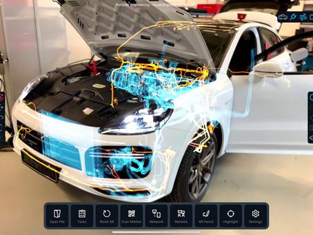 Porsche Engineering está desenvolvendo o veículo inteligente do futuro com tecnologia dos Games