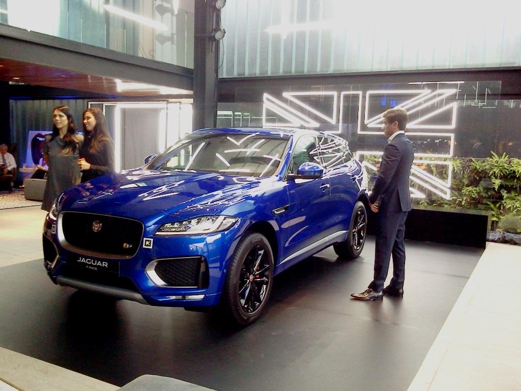 Casa Jaguar F-Pace