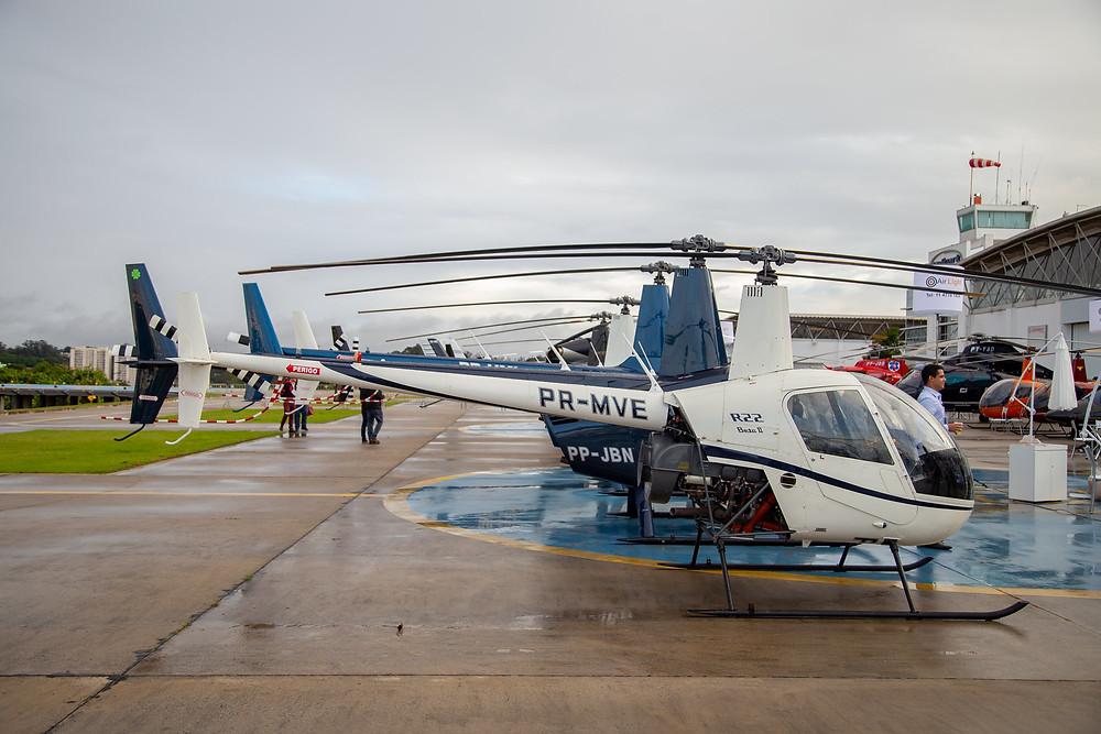 Heli Show vai levar 20 empresas e oito helicópteros para a Raia Olímpica da USP