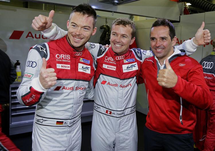 Audi domina primeira fila do WEC em Silverstone