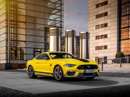 Ford anuncia o lançamento do Mustang Mach 1 na Europa