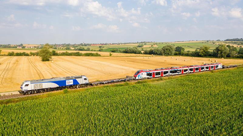 Alstom entrega os primeiros trens Coradia para o serviço transfronteiriço entre Suíça e França