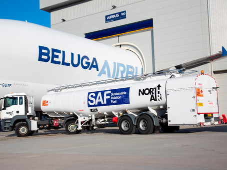 Aviação: Airbus reduz o impacto ambiental de sua frota Beluga