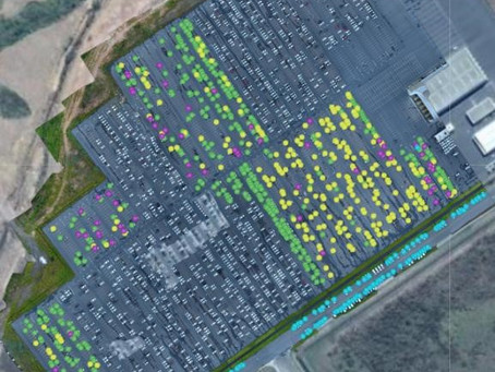 Nissan implementa sistema de contagem de veículos utilizando drones