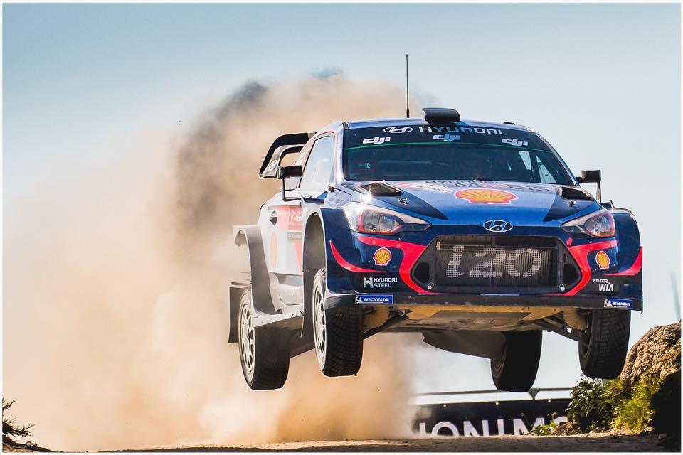 Hyundai em parceria com a Shell leva clientes para assistir o WRC no México