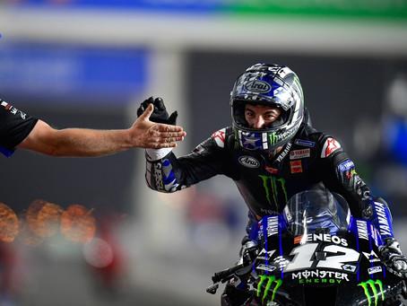 MotoGP: Viñales em Yamaha começa 2021 com vitória espetacular