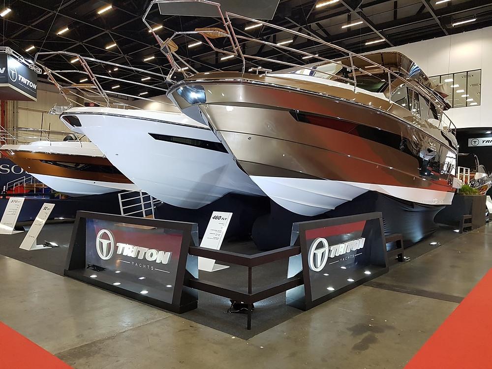 Triton Yachts terminou Boat Show com um aumento de 20% em negócios em relação à edição anterior