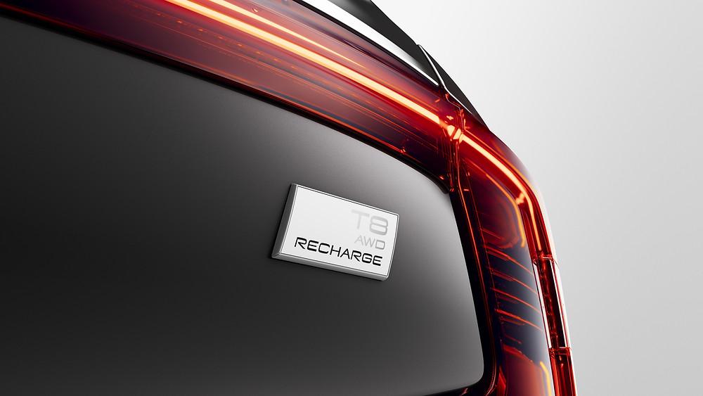 Volvo Cars muda o nome dos veículos eletrificados e lança inovadora chave