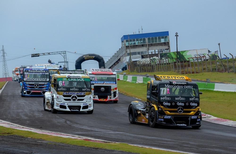 Copa Truck: Vitórias em Cascavel para Beto Monteiro e Paulo Salustiano, que empatam na ponta do campeonato