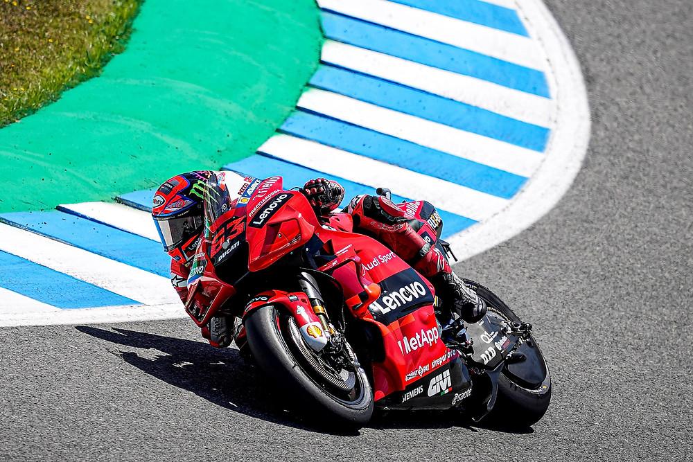 Francesco Bagnaia (# 63 Ducati Lenovo Team) - 2º