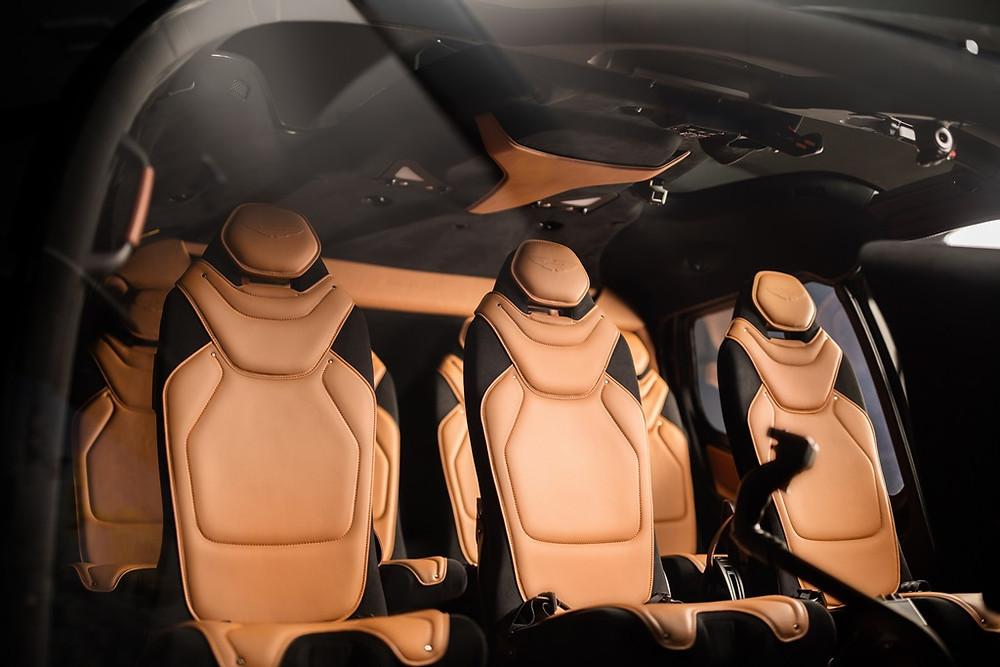 Airbus Helicopters lançar edição especial do ACH130 em parceria com a Aston Martin