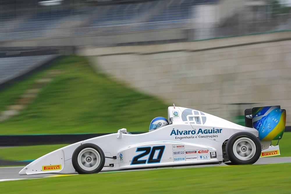 Pedro Aguiar veio da Fórmula Vê
