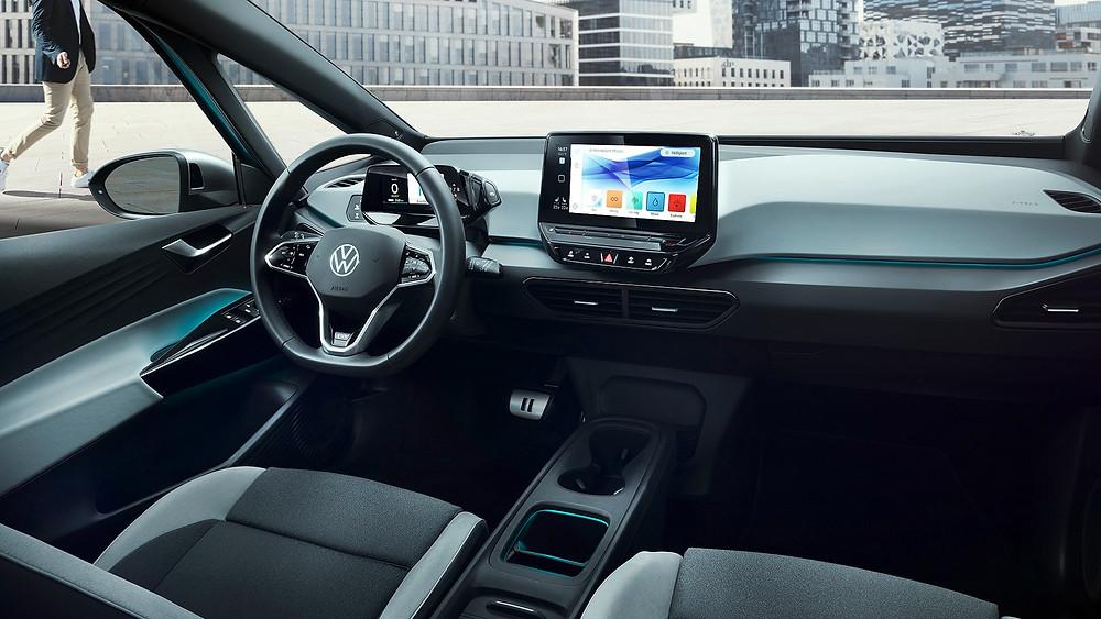 Volkswagen apresenta o ID.3, modelo da nova geração de elétricos
