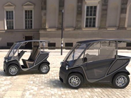 Expressas: Squad Mobility tem veículo alimentado por energia solar e que não exige habilitação