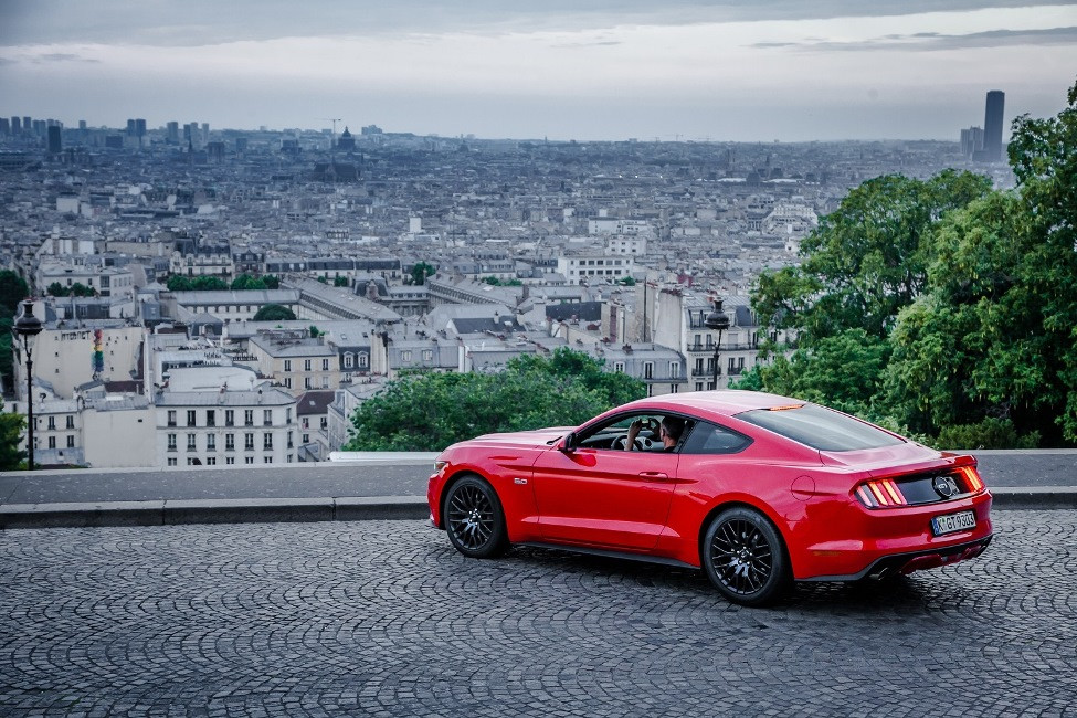 Ford Mustang, sucesso global !