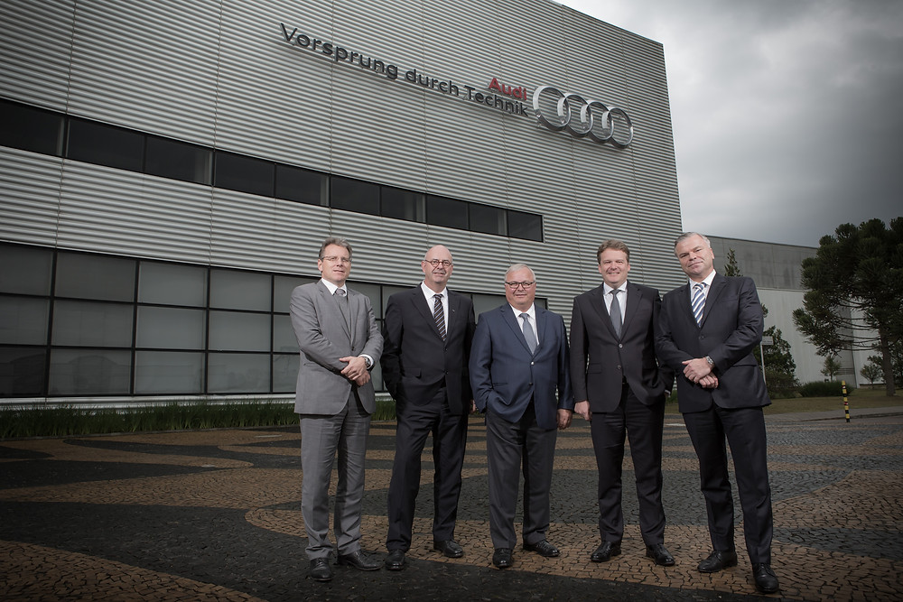 Audi inicia produção no Brasil
