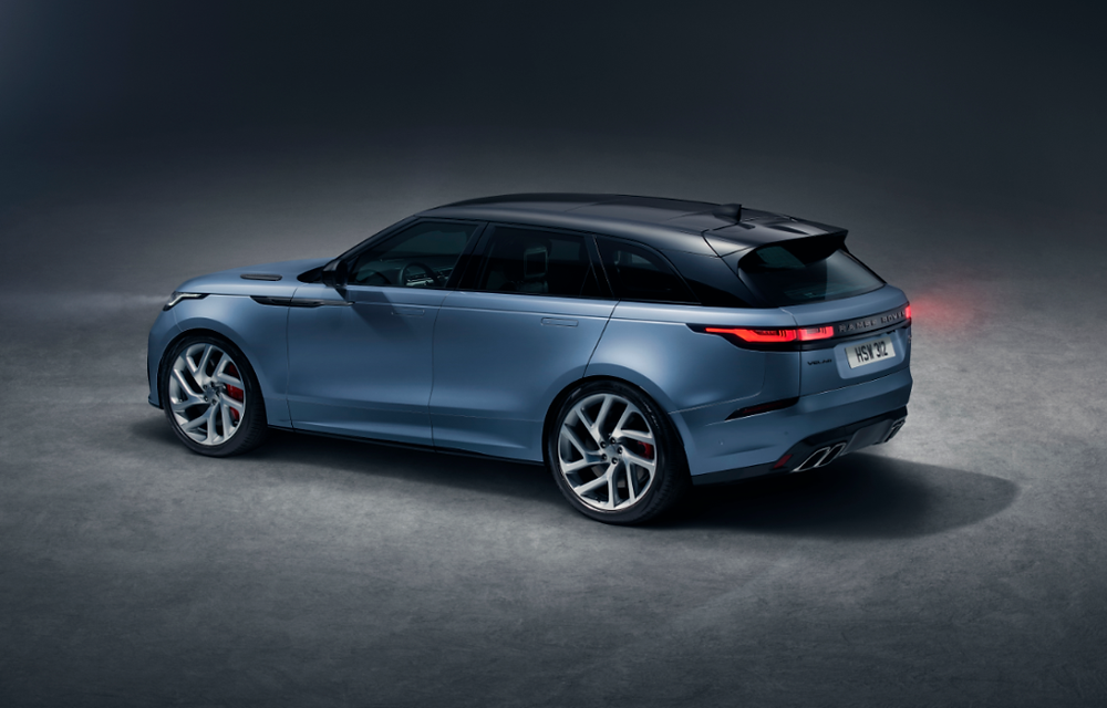 Novo Range Rover Velar na luxuosa versão SVAutobiography Dynamic sem previsão de chegar ao Brasil