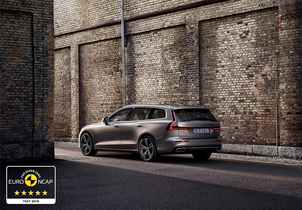 Volvo Cars: S60 e V60 recebem nota máxima de segurança pelo Euro NCAP