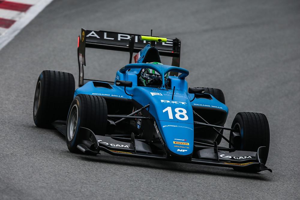 F3: Caio Collet disputa este fim de semana a 1ª etapa em Barcelona