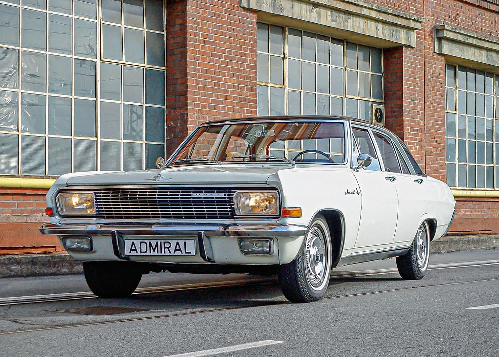Opel Admiral V8