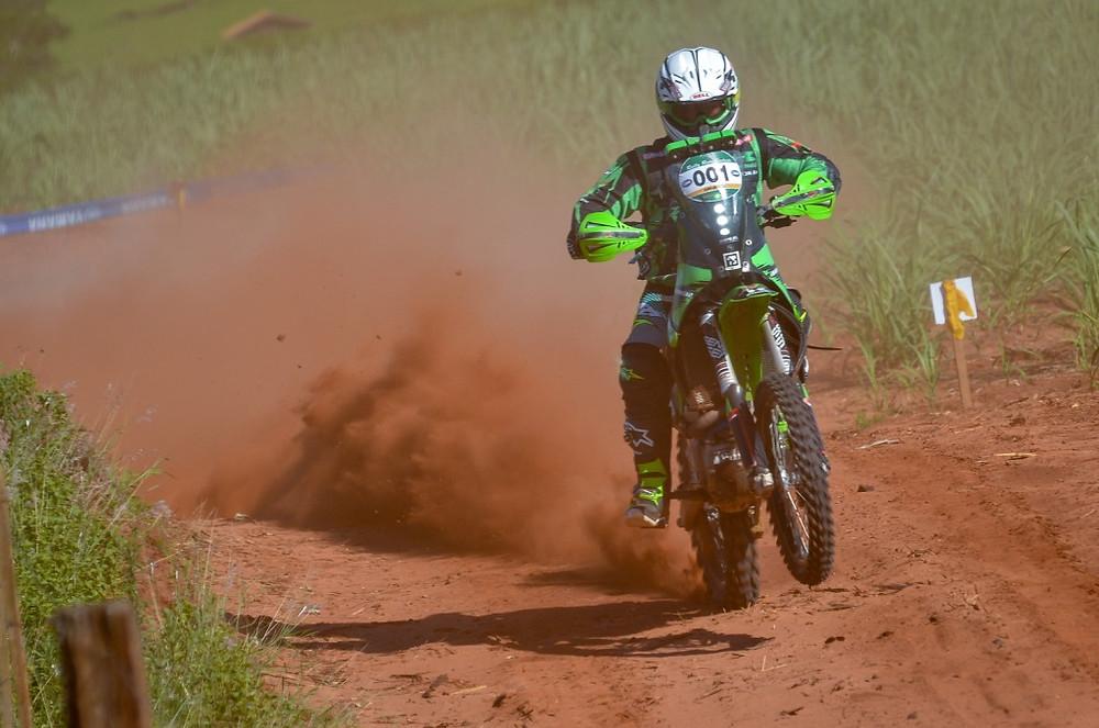 Ramon Sacilotti garantiu a primeira colocação nas motos