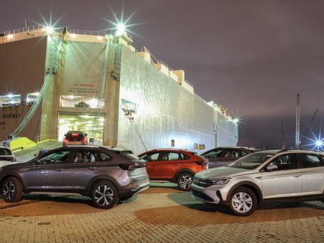 Volkswagen dá início à exportação do Nivus para a Argentina
