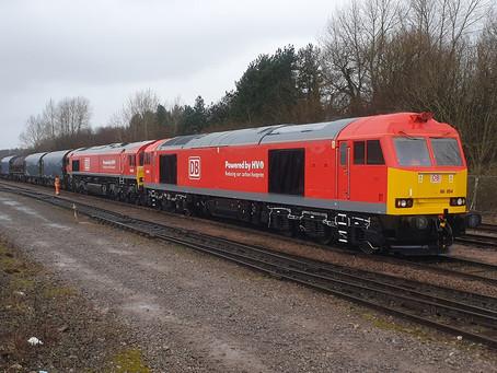 Ferrovia: No Reino Unido, DB Cargo e Tata Stell testam óleo vegetal como combustível