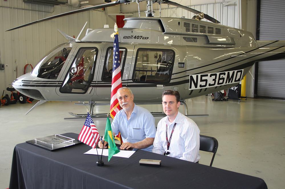 Bell Helicopter entrega primeiro 407GXP no Brasil