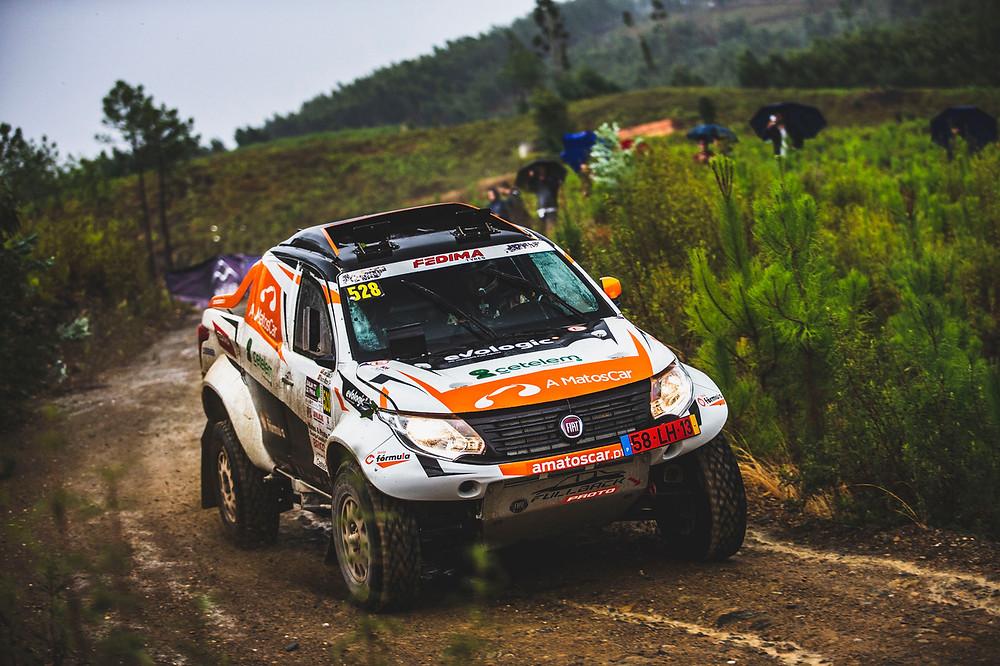 Nuno Matos com início difícil na Baja TT do Pinhal