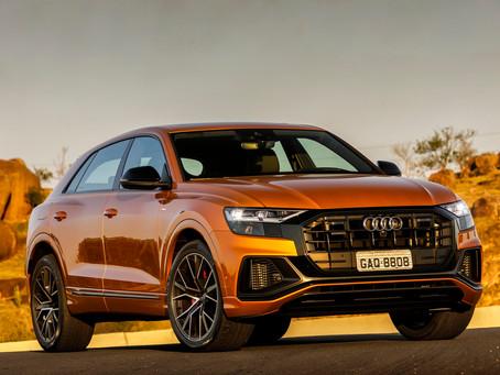 O Audi Q8 chega ao Brasil em duas versões e a partir de R$ 471.990
