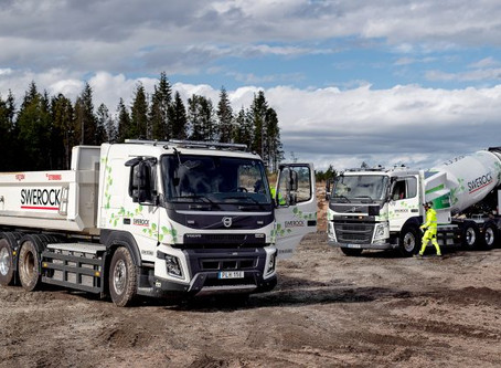 Volvo testa caminhões elétricos operando na construção civil