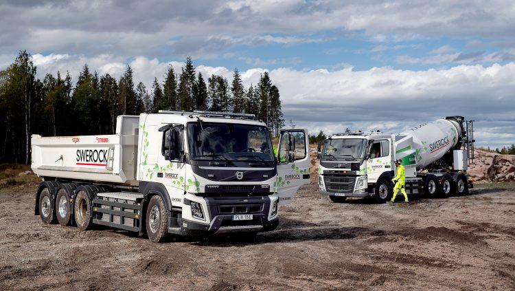 Volvo testa caminhões eléctricos operando na construção civil
