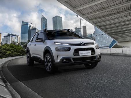 Citroën cresce 43% em 2021 com destaque para as 2.285 unidades do Cactus vendidas em Julho