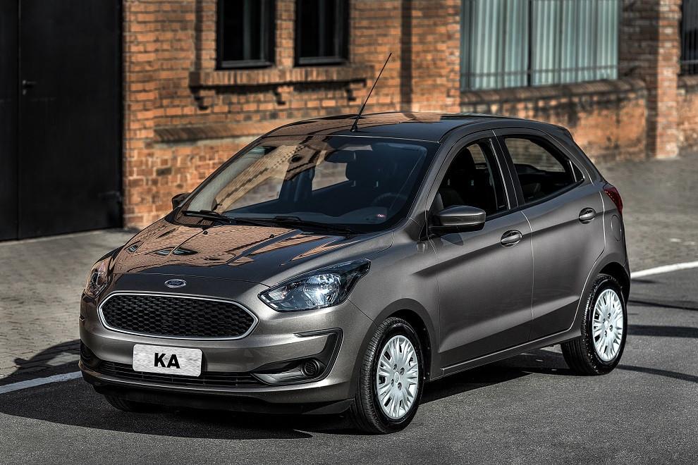 Ford aposta nas novidades mecânicas e tecnológicas na linha 2019 do Ka