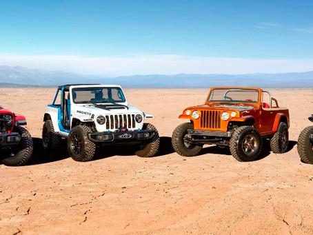 Jeep e Jeep Performance Parts apresentam seus carros conceito para o Easter Jeep Safari 2021