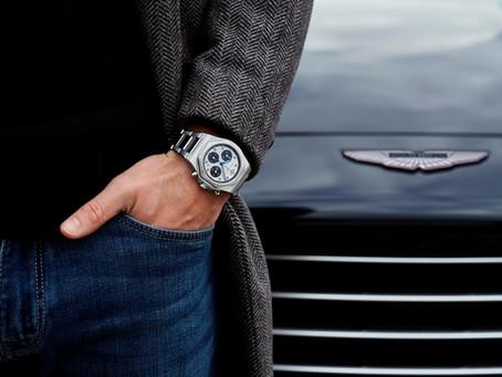 Fabricante suíço Girard-Perregaux é o novo parceiro oficial da Aston Martin