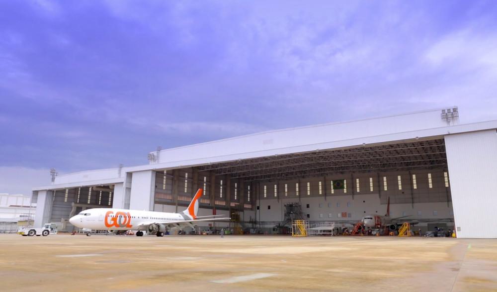 GOL celebra 10 anos do Centro de Manutenção de Aeronaves
