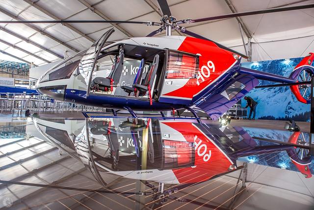 Fabricante de helicópteros Kopter confirma participação no São Paulo Boat Show 2019