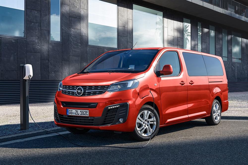 Primo da Jumpy e Expert, Opel Zafira-e Life elétrico chega a Portugal