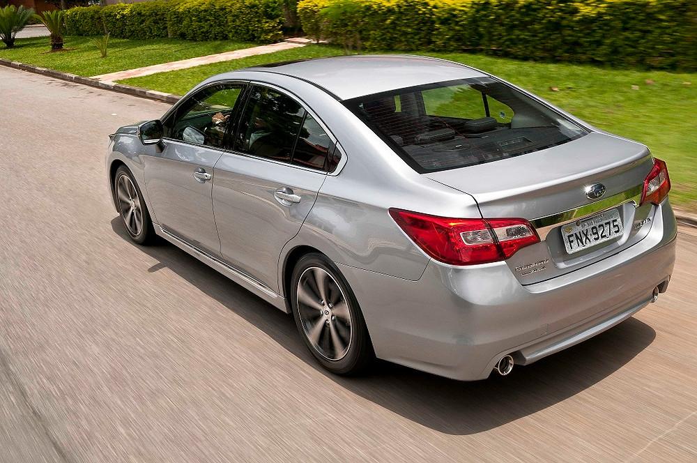 Elegância, conforto e segurança no novo Subaru Legacy